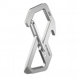 Nitecore - NSH10 EDC Multiuse Titanium Snap Hook - moschettone