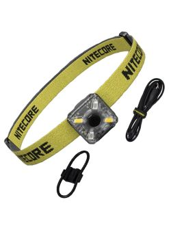 Nitecore - NU05 Kit - Headlamp Mate - ultra compatta e ricaricabile USB - 35 lumens - Torcia Led