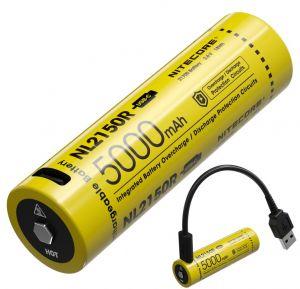 Nitecore - NL1835R - Batteria ricaricabile con attacco Micro-USB - protetta Li-Ion 18650 3.6V 3500mAh