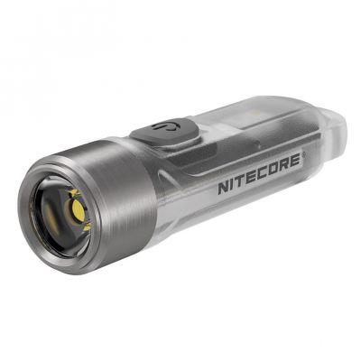 Nitecore - TINI Black - Portachiavi Ricaricabile USB - 380 lumens e 64 metri - Torcia Led