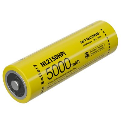 Nitecore - NL2150HPR USB-C - Batteria ricaricabile protetta Li-Ion 21700 3.6V 5000mAh 15A