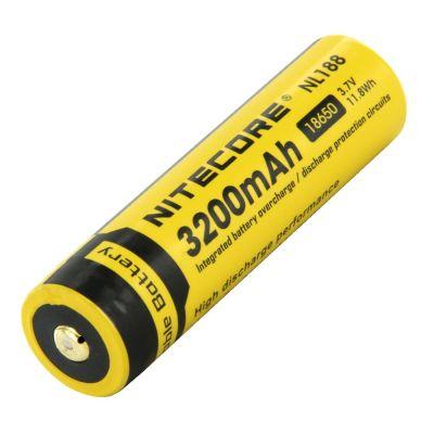 Nitecore - NL1832 - Batteria ricaricabile protetta Li-Ion 18650 3.7V 3200mAh