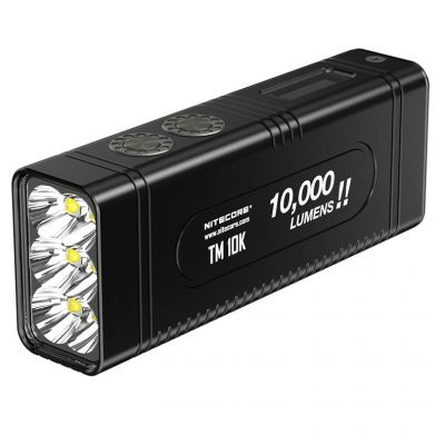 Nitecore - TM28 SET - Tiny Monster - Ricaricabile - 6000 lumens e 655 metri - Torcia Led