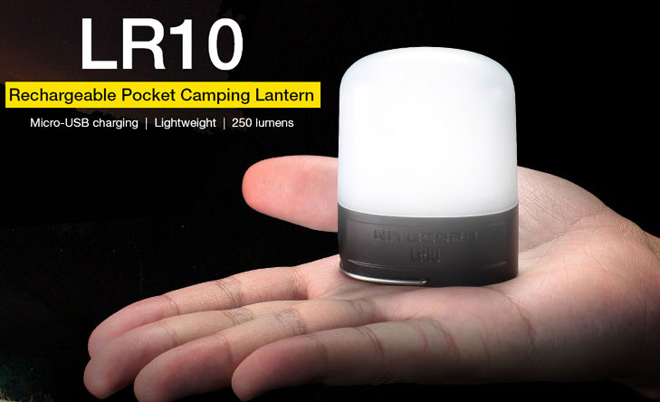 Nitecore LR10 Rechargeable Pocket Camping Lantern