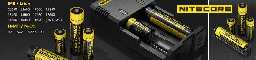 Guida alla conoscenza delle batterie e dei caricabatterie Nitecore
