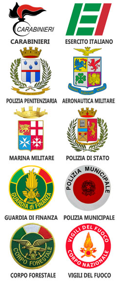 Loghi forze dell'ordine