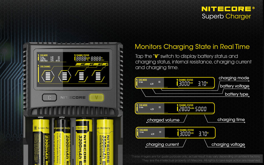 Nitecore - Superb Charger SC4 EU