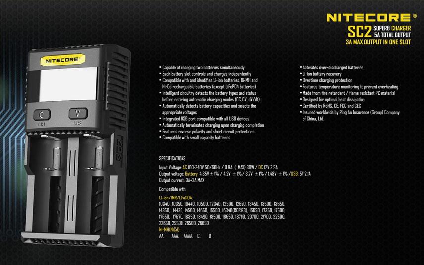 Nitecore SC2